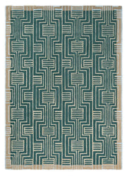 Ted Baker Kinmo Rug No.56807 in Green