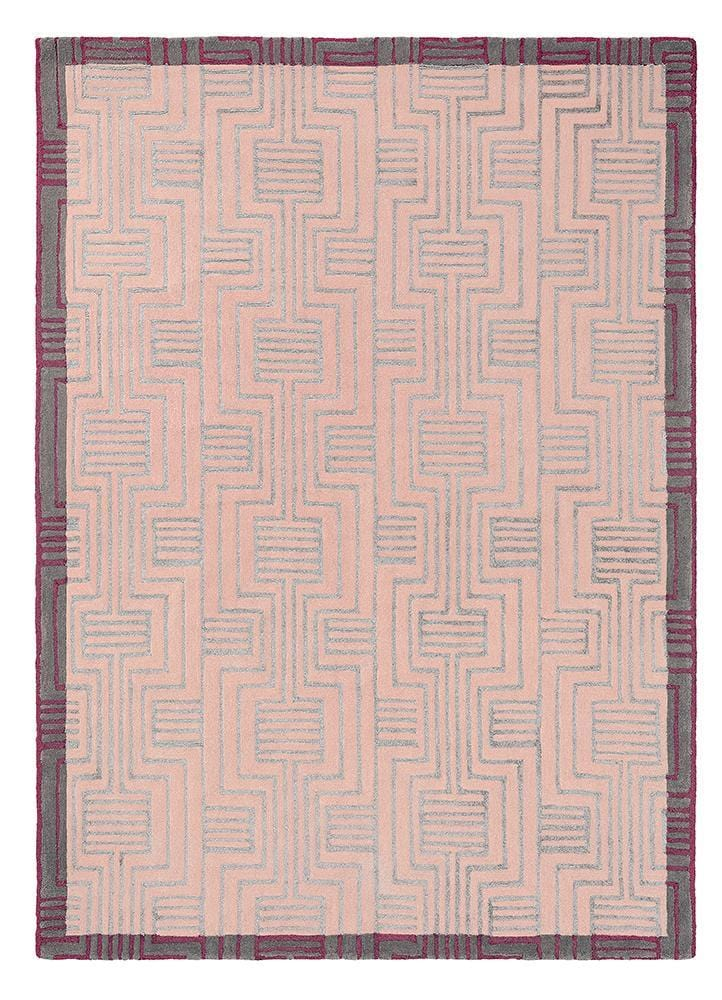 Ted Baker Kinmo Rug No.56802 in Pink