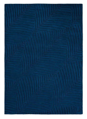 Wedgwood Folia No.8 in Navy (Also available in Round Rug)