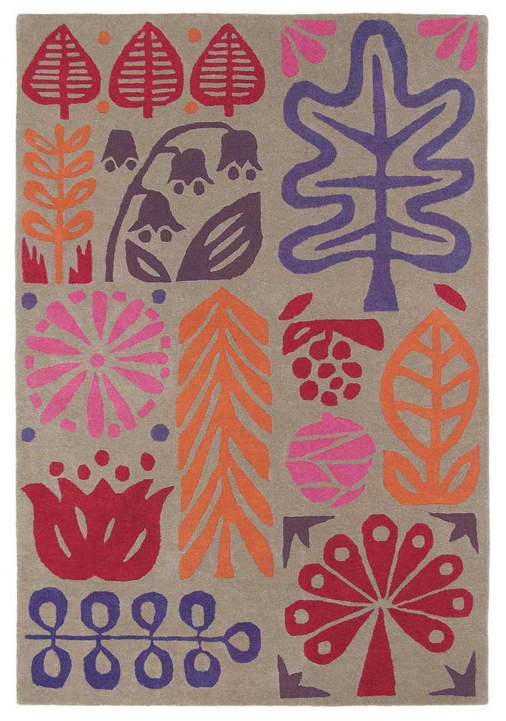 Scion Woodland - Berry Rug 25200