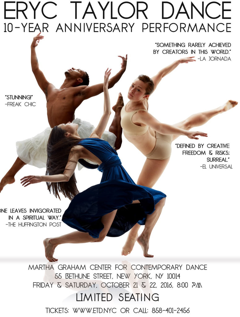 KD dance Celebrates Eryc Taylor Dance 10th Anniversary Performance