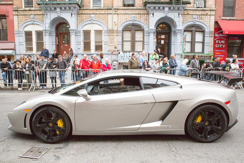 New York Sino Auto Association Lamborghini Dance Parade 2016