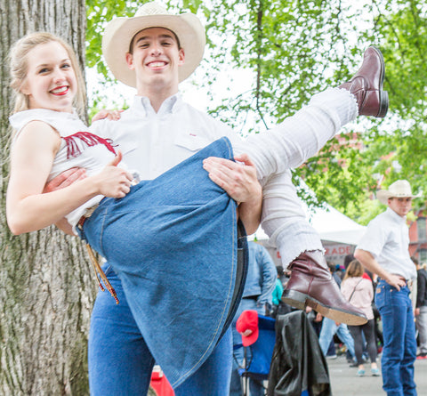 Aggie Wranglers Texas A&M University's Country & Western Exhibition Dance Team NYC dance Parade Tompkins Sq Park