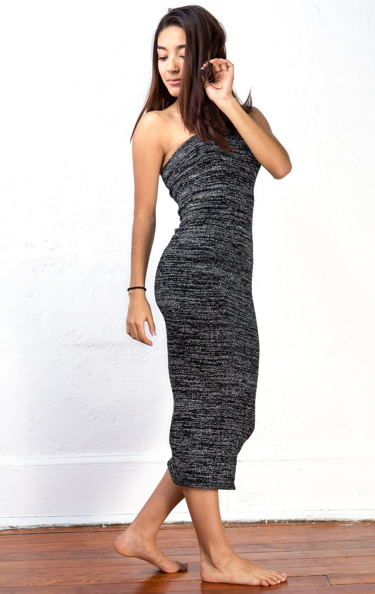 Maxi Dress / Calf Length Sweater Dress / Body Con Tube Dress @KDdanceNewYork #MadeInUSA - 4