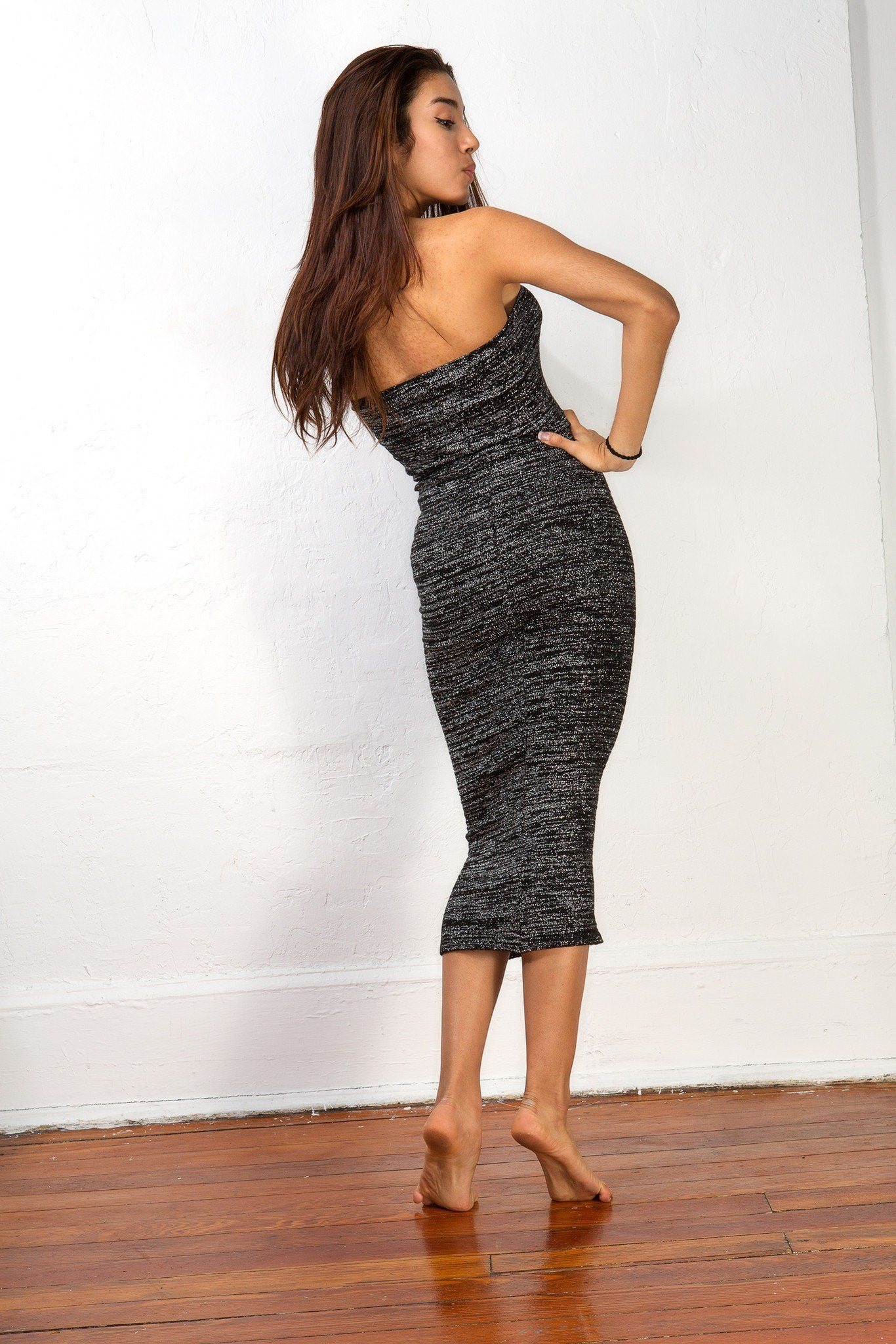 Maxi Dress / Calf Length Sweater Dress / Body Con Tube Dress @KDdanceNewYork #MadeInUSA - 5