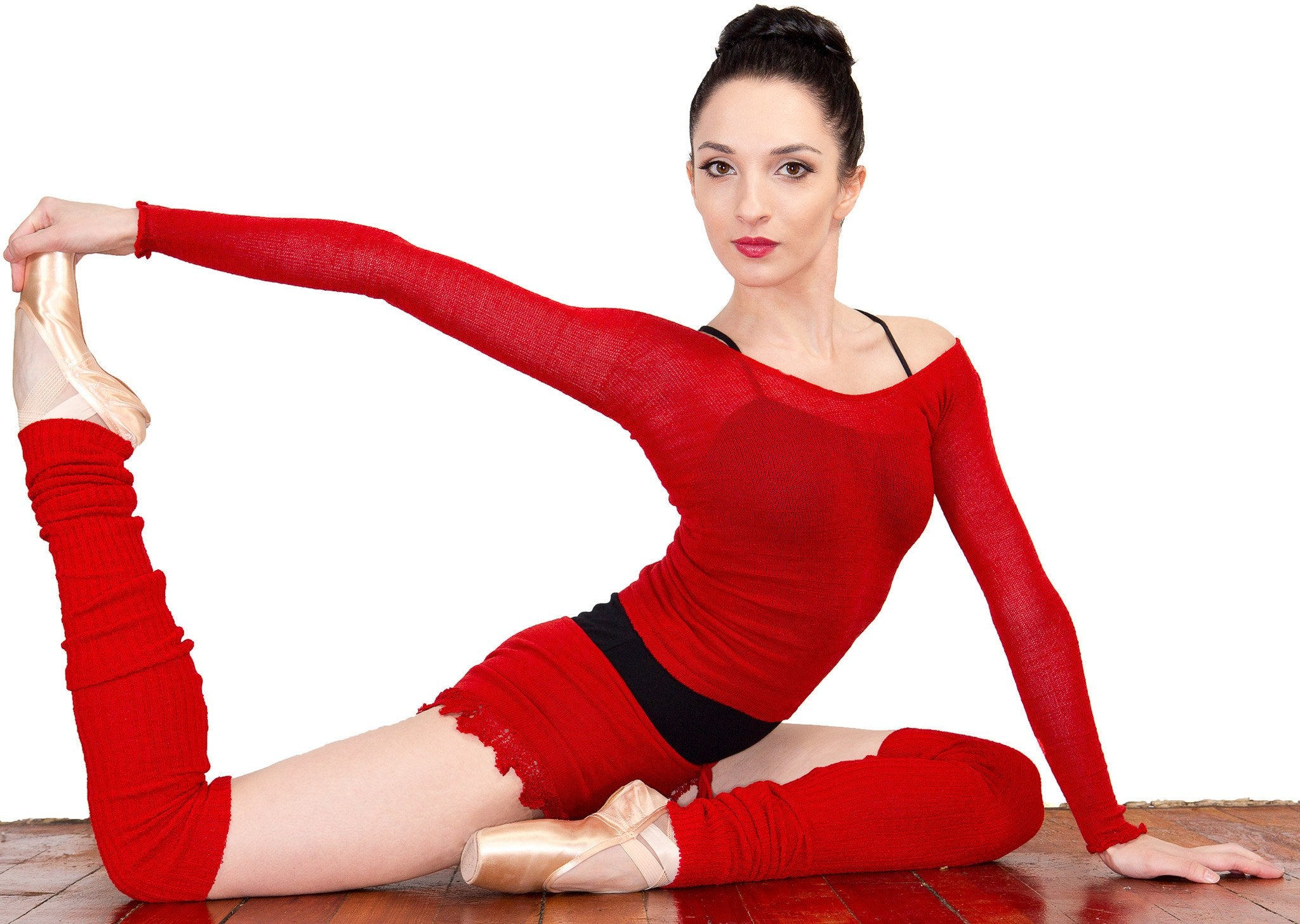 Leg Warmers: Knee High KrinkleSpun Soft Subtle Shine Legwarmers by KD dance New York Made In USA @KDdanceNewYork #MadeInUSA - 8