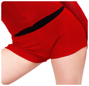 High Waist Dance Shorts @KDdanceNewYork #MadeInUSA - 2