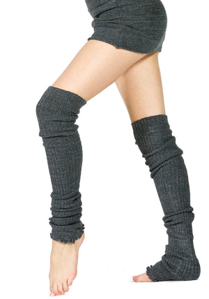 Leg Warmers Thigh High Stretch Knit Ribbed 28 Inch Leg Warmers High Quality KD dance Made In USA @KDdanceNewYork #MadeInUSA - 6