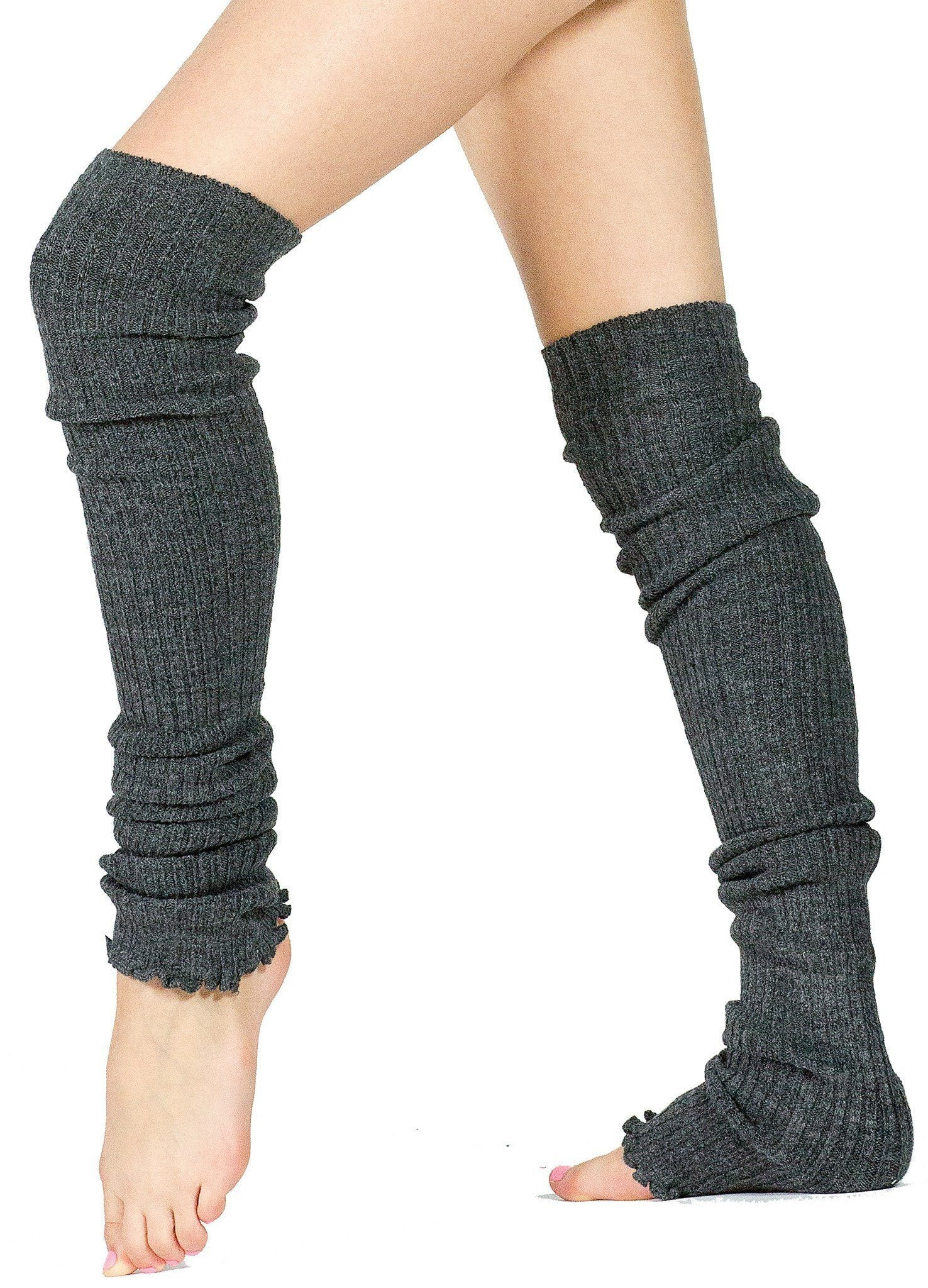 Thigh High Leg Warmers / 28 Inch / Dancewear / LegWarmers / Stretch Knit @KDdanceNewYork #MadeInUSA - 4