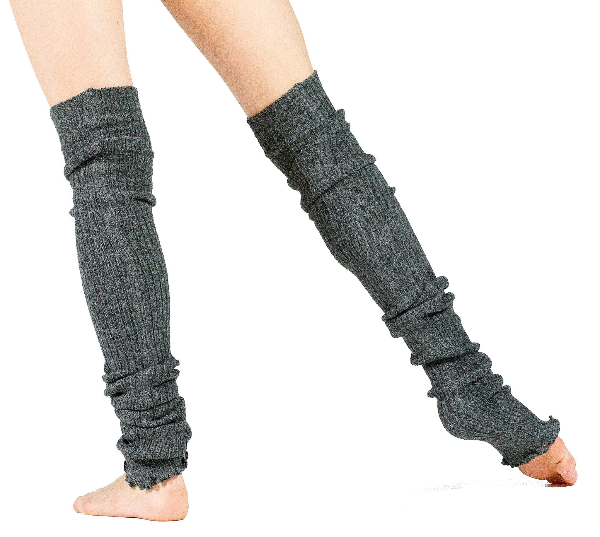 Leg Warmers Thigh High Stretch Knit Ribbed 28 Inch Leg Warmers High Quality KD dance Made In USA @KDdanceNewYork #MadeInUSA - 7