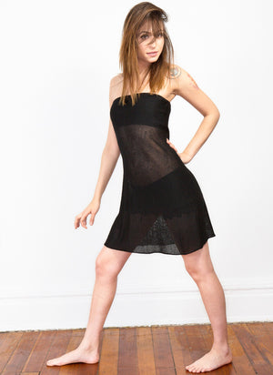 Sexy Sheer Bare Shoulder Mesh Dress by KD dance New York Made In USA @KDdanceNewYork #MadeInUSA - 3