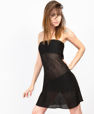 Sexy Sheer Bare Shoulder Mesh Dress by KD dance New York Made In USA @KDdanceNewYork #MadeInUSA - 5