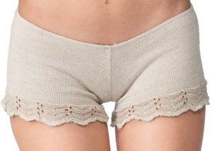 Cocoon Sweater & Lace Yoga Shorts @KDdanceNewYork #MadeInUSA - 3