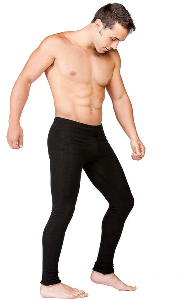 Men's Low Rise Dance Yoga Tights KD dance Stretch Knit Flexible Unique High Quality Made In USA @KDdanceNewYork #MadeInUSA - 6