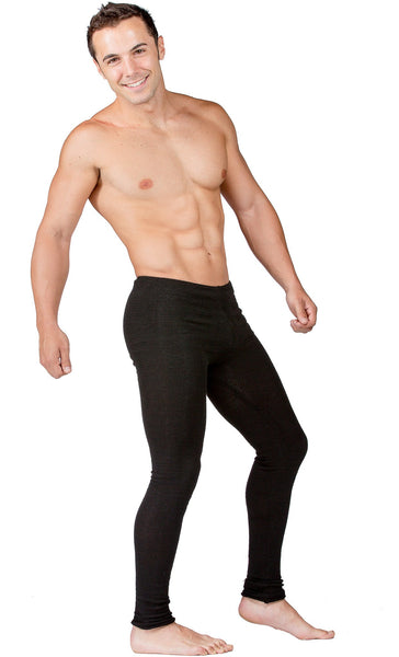 Men's Low Rise Dance Yoga Tights KD dance Stretch Knit Flexible Unique High Quality Made In USA @KDdanceNewYork #MadeInUSA - 5