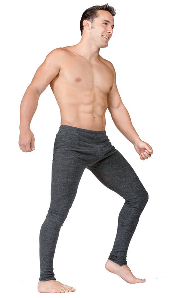 Male Dancewear Shorts / Men's Leg Warmers / Gray @KDdanceNewYork #MadeInUSA - 9