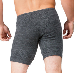 Shorts:  Men's Dance & Yoga Low Rise Shorts Stretch Knit Yoga KD dance NYC Dancewear Made In USA @KDdanceNewYork #MadeInUSA - 6