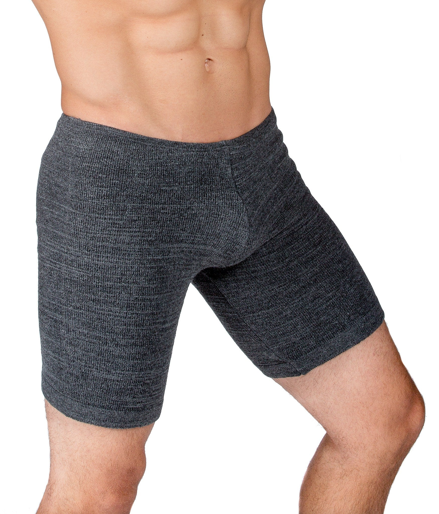 Shorts:  Men's Dance & Yoga Low Rise Shorts Stretch Knit Yoga KD dance NYC Dancewear Made In USA @KDdanceNewYork #MadeInUSA - 7