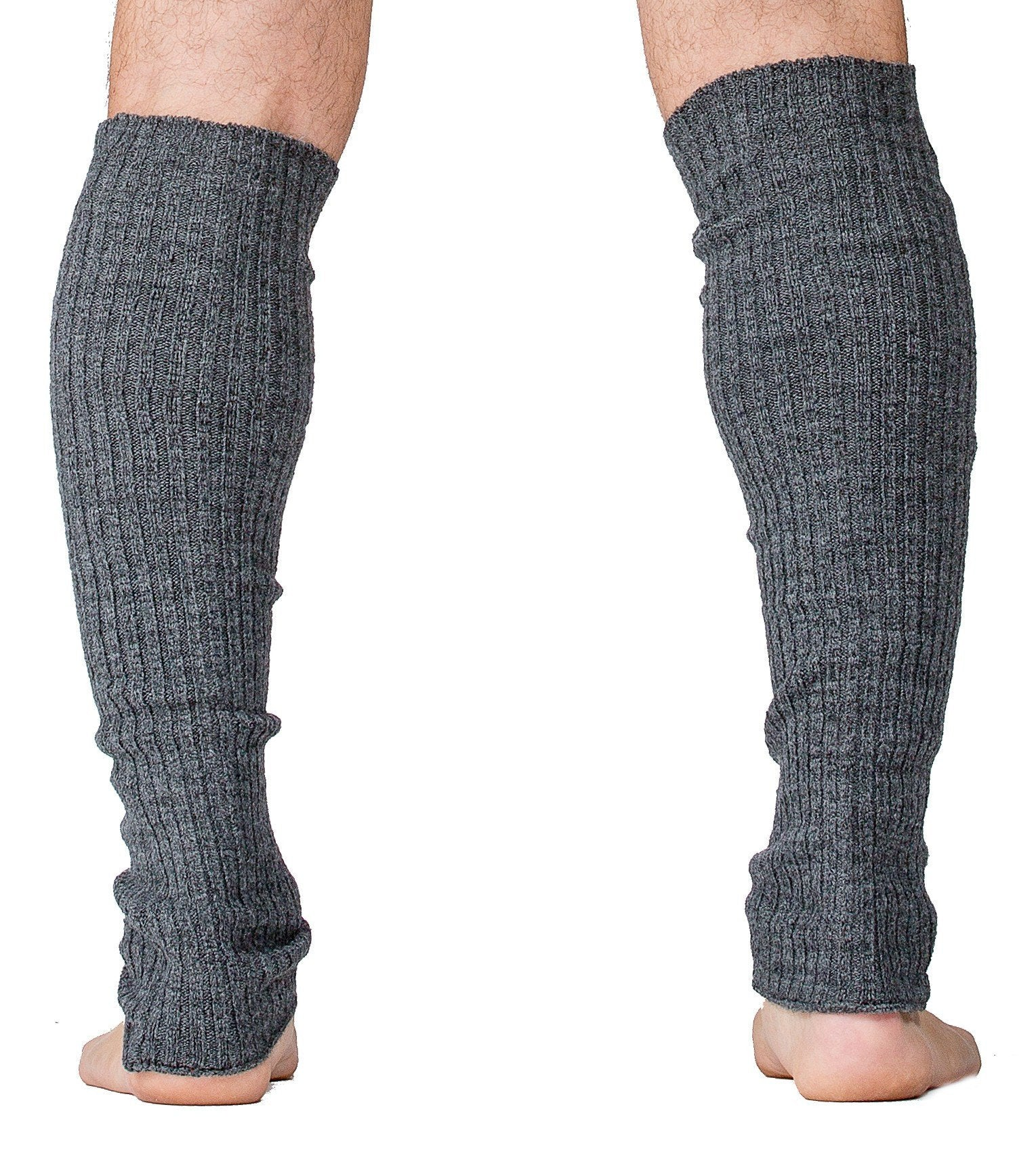 Charcoal / 16 Inch Leg Warmer Leg Warmers / Dark Gray / Men's Dancewear @KDdanceNewYork #MadeInUSA - 1