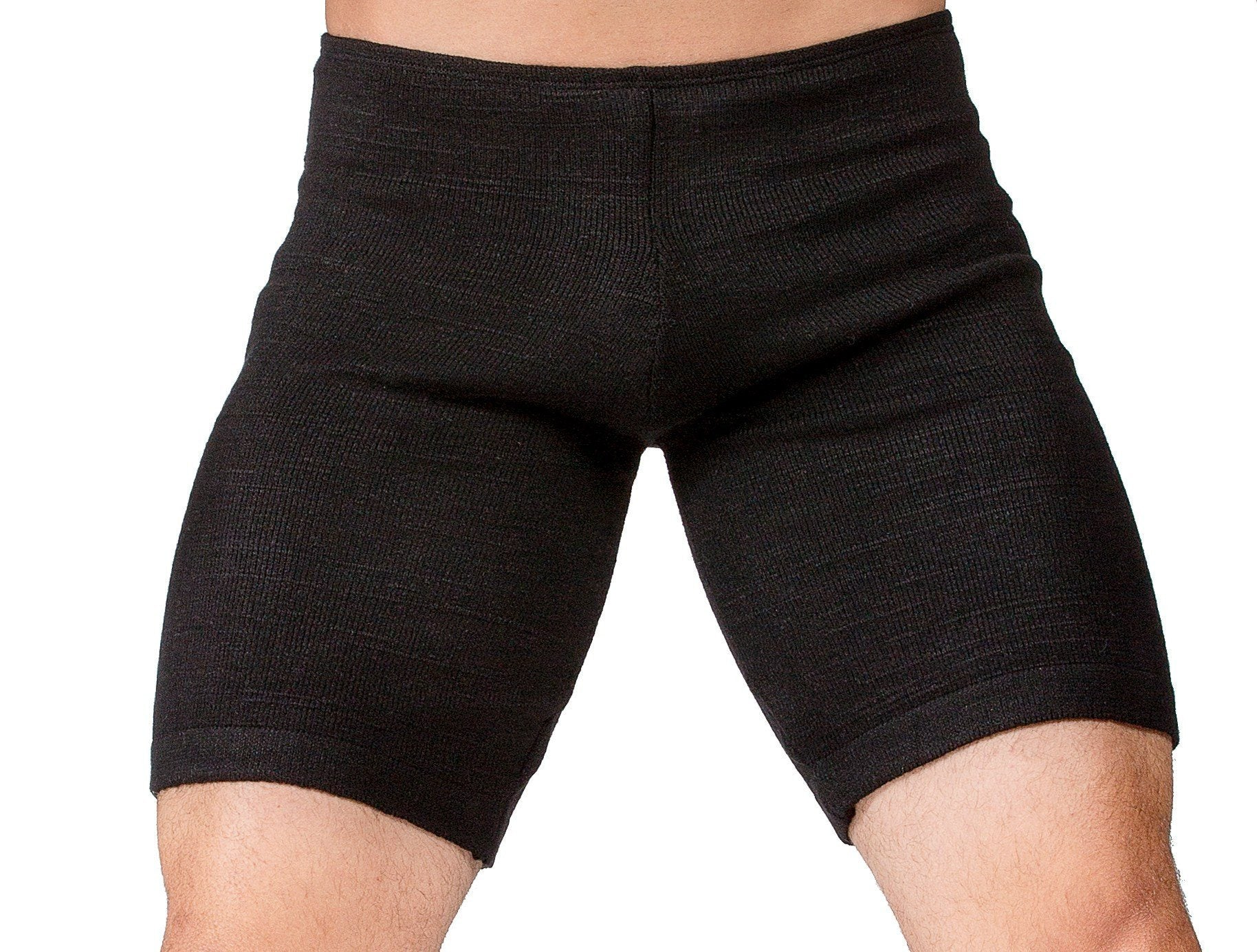 Extra Small / New York Black Men's Dance Shorts / Men's Dancewear @KDdanceNewYork #MadeInUSA - 1