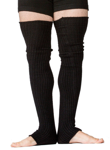 Men's Leg Warmers / Men's Dancewear / Thigh High Leg Warmers @KDdanceNewYork #MadeInUSA - 2