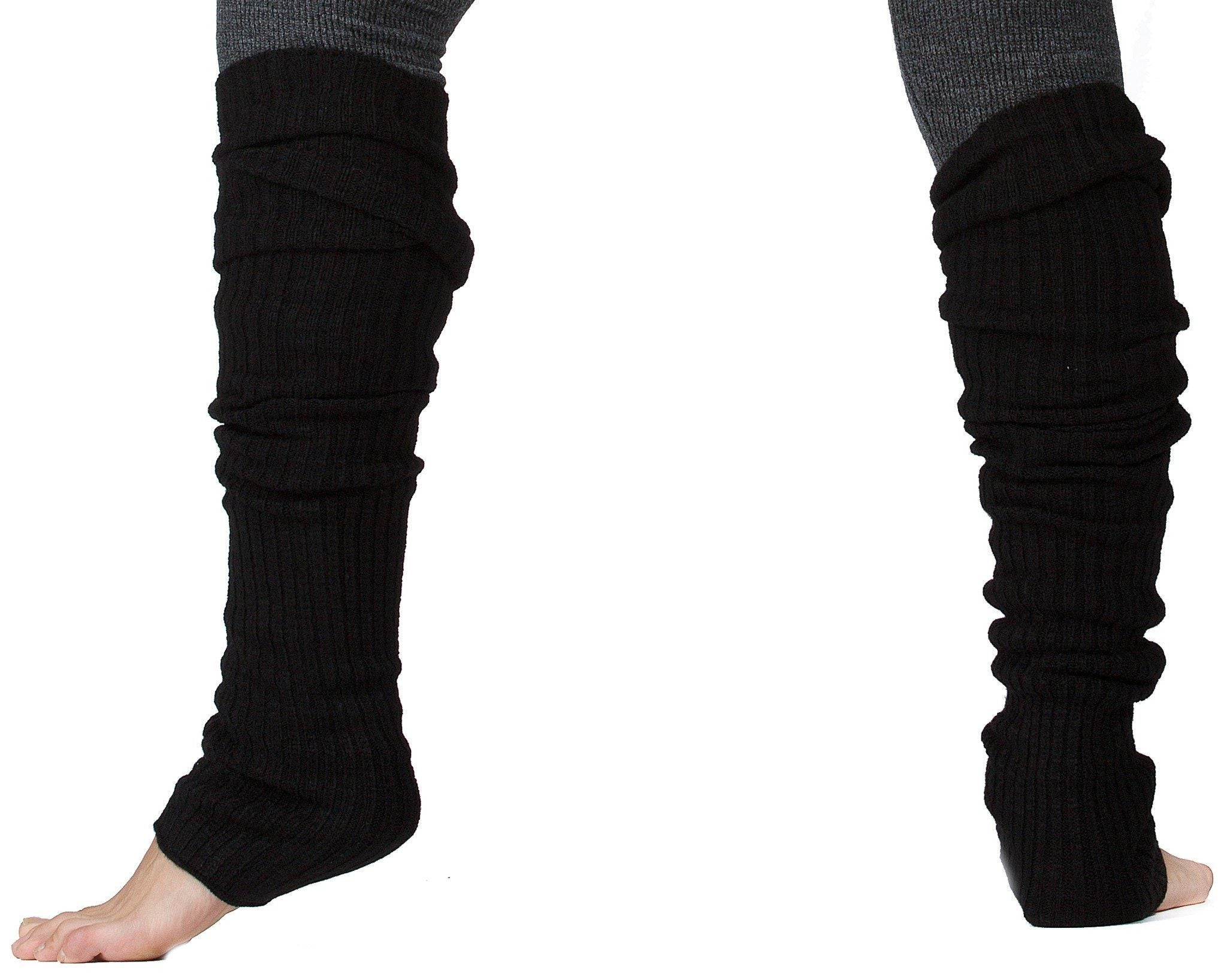 New York Black / 16 Inch Leg Warmer Leg Warmers / Dark Gray / Men's Dancewear @KDdanceNewYork #MadeInUSA - 2