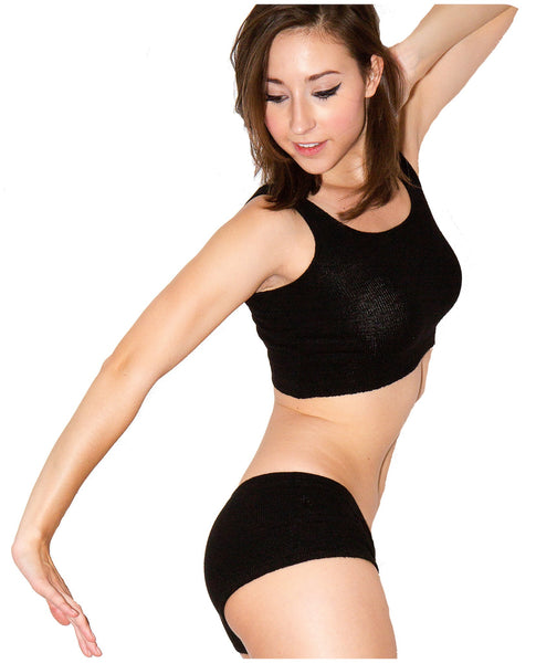 Midriff Tank Top by KD dance New York Dance Class to Yoga Made In USA @KDdanceNewYork #MadeInUSA - 6