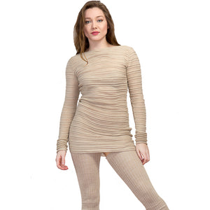 Yoga & Dance Mesh Skinny Sweater