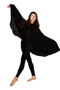 Hoodie / Poncho / Stretch Knit / Yoga Tights / Dancewear Set @KDdanceNewYork #MadeInUSA - 6