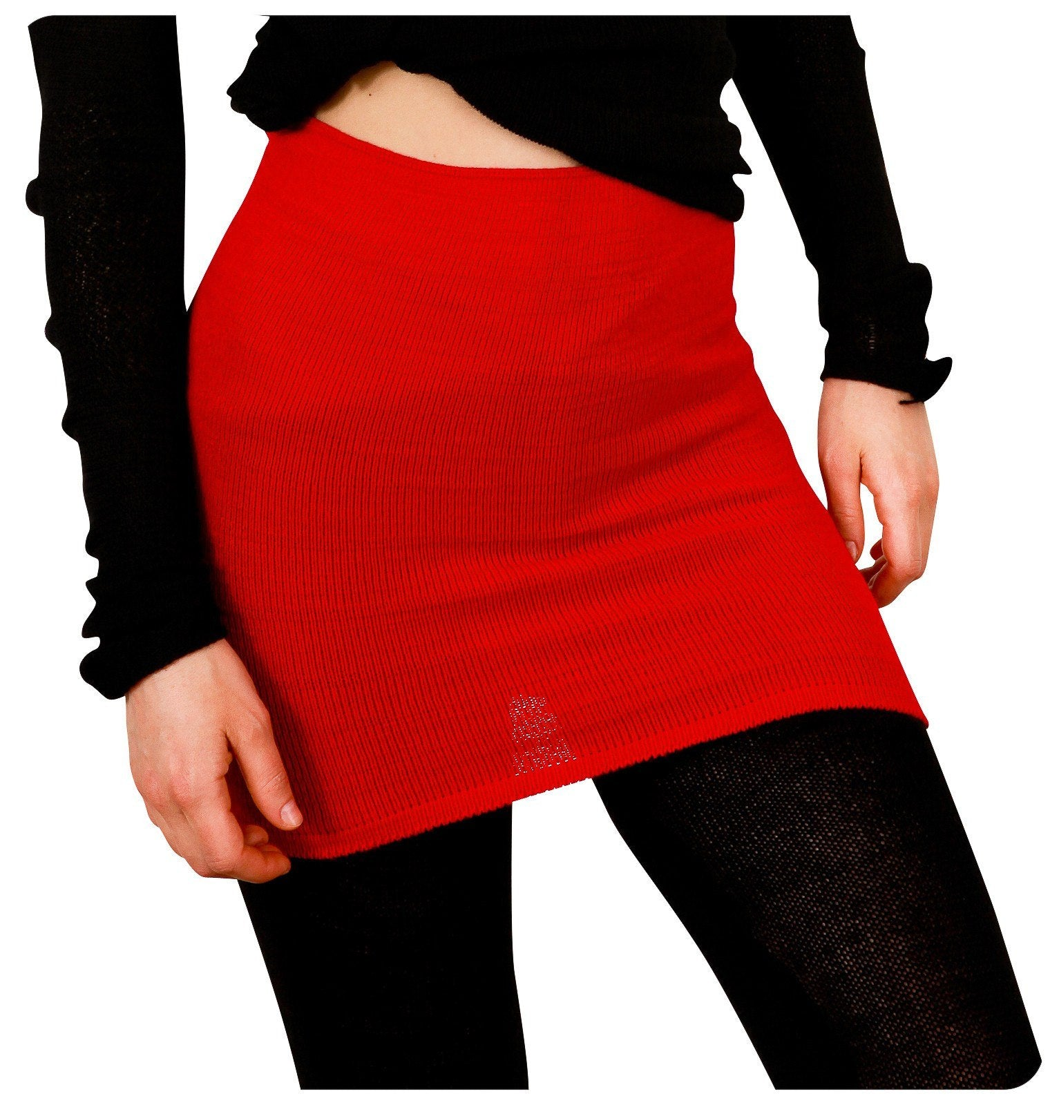 New York Black / Large Ballet Knit Dance Skirt @KDdanceNewYork #MadeInUSA - 1