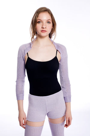 Drape Knit Shrug / Sleeves / Sweater / Dancewear @KDdanceNewYork #MadeInUSA - 5