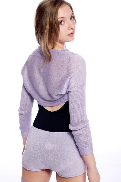 Drape Knit Shrug / Sleeves / Sweater / Dancewear @KDdanceNewYork #MadeInUSA - 7