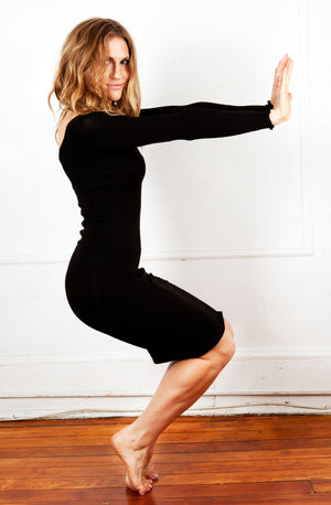 Knee High Sweater Dress KD dance New York Office Wear To Cocktail Party Dress Made In USA @KDdanceNewYork #MadeInUSA - 2