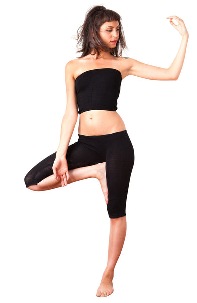 Sexy Rib Length Stretch Knit Tube Top by KD dance New York Made In USA @KDdanceNewYork #MadeInUSA - 2