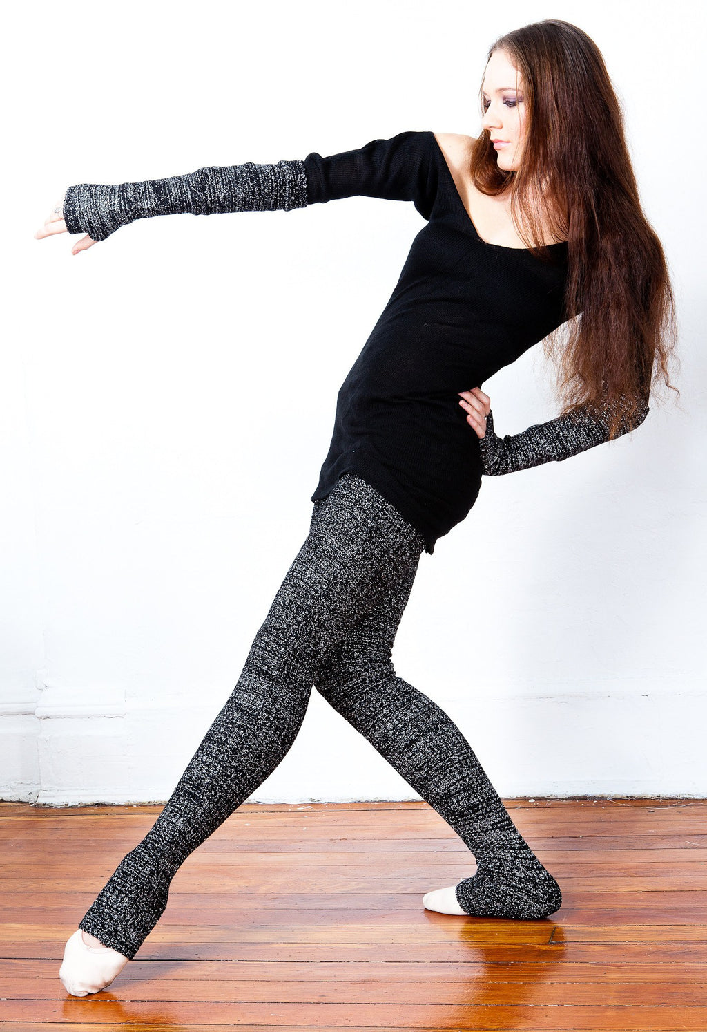 Leg & Arm Warmer KD dance New York Matching Set, Sexy, Warm & Unique Made In USA @KDdanceNewYork #MadeInUSA - 3