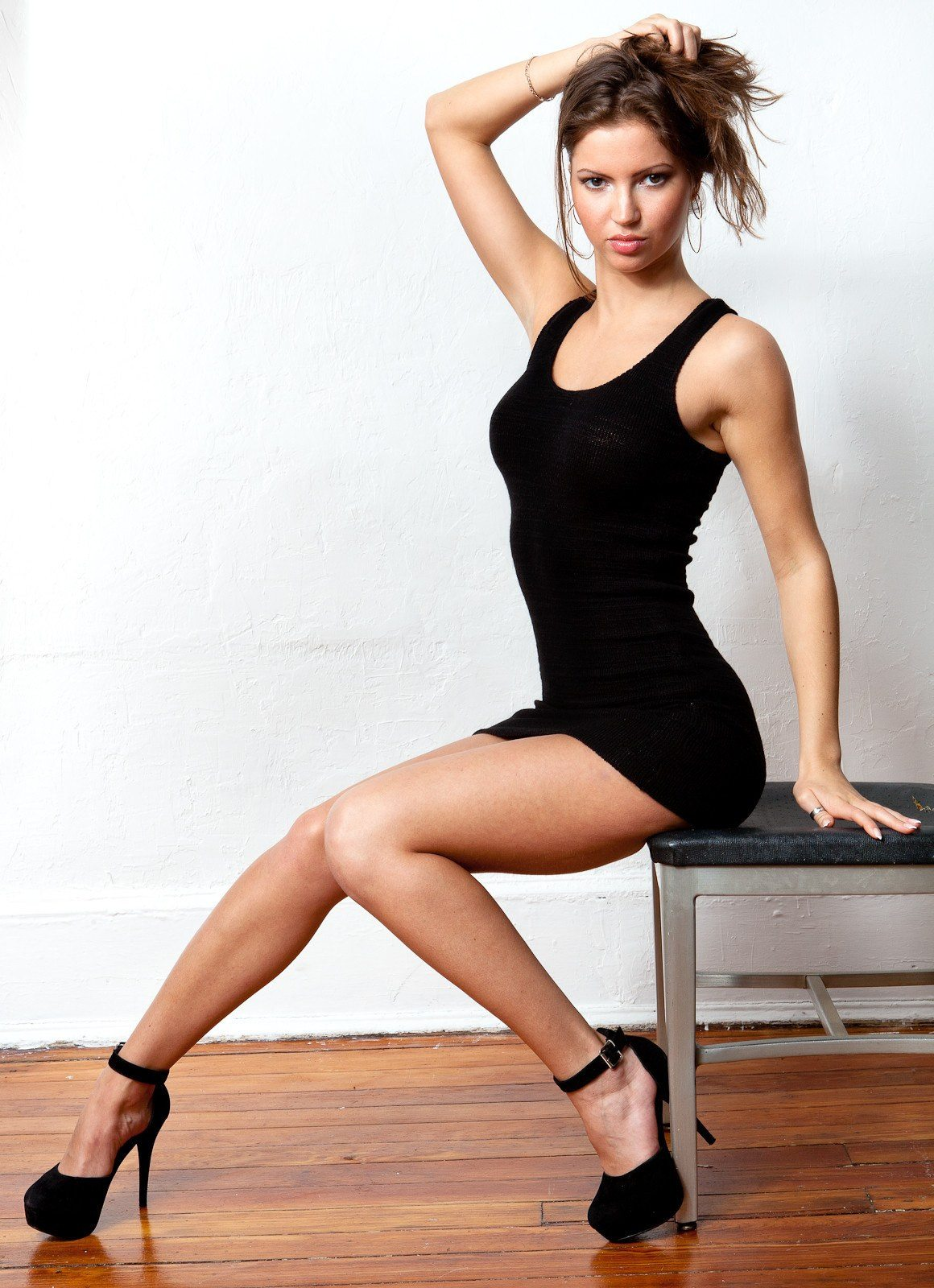 Sexy LBD / Little Black Dress / Mini Dress / In 20+ Colors @KDdanceNewYork #MadeInUSA - 10