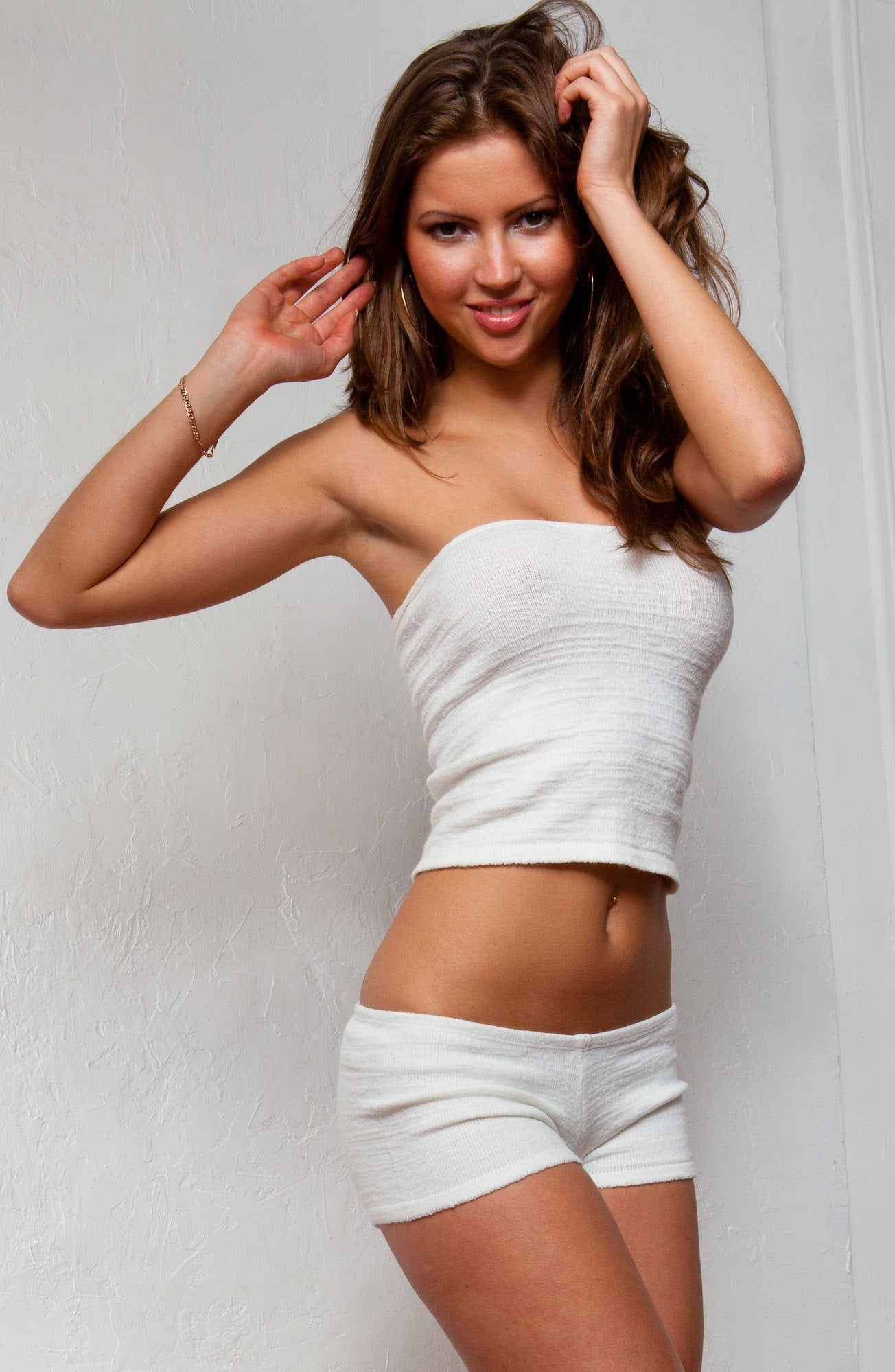 Buy Sexy Tube Top Sweater Top  Matching Low Rise Stretch -1608