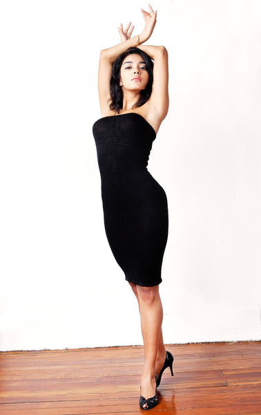 Tube Top Dress / Knee High Dress / Sexy Sweater Dress @KDdanceNewYork #MadeInUSA - 2