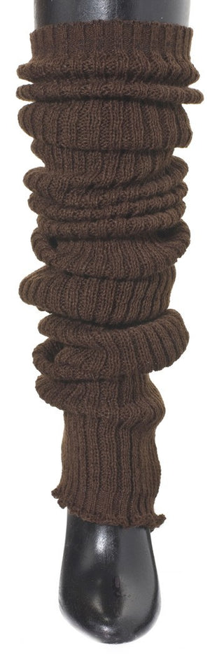 Leg Warmers: Fluffy Slouchy, Loose Knit Ankle To Thigh High Legwarmers by KD dance New York @KDdanceNewYork #MadeInUSA - 1