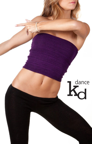 Sexy Stretch Knit Tube Top Fashionable For Any Occasion Layer, Dance, Yoga, Chill Made In USA @KDdanceNewYork #MadeInUSA - 6