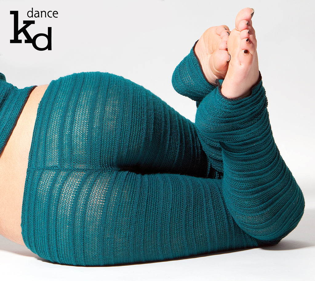 Dance & Yoga Hipster Tights Stretch Knit Cozy Chic by KD dance Made In USA