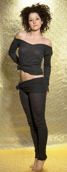 Ballet Top / Off The Shoulder Sweater / Sexy Sweater / Dancewear @KDdanceNewYork #MadeInUSA - 8