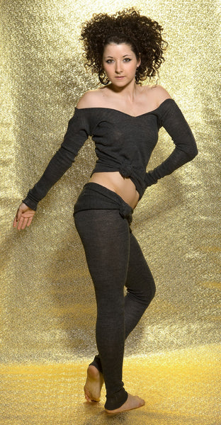 Ballet Top / Off The Shoulder Sweater / Sexy Sweater / Dancewear @KDdanceNewYork #MadeInUSA - 9