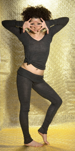 Ballet Top / Off The Shoulder Sweater / Sexy Sweater / Dancewear @KDdanceNewYork #MadeInUSA - 7