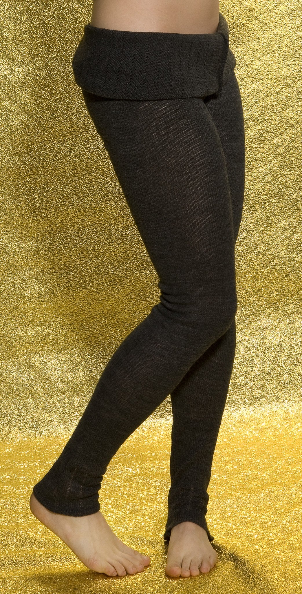 KD dance New York Soft, Luxurious Loose Knit  Roll Waist Tights with Drawstring Made In USA @KDdanceNewYork #MadeInUSA - 9