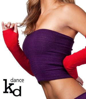 Sexy Stretch Knit Tube Top Fashionable For Any Occasion Layer, Dance, Yoga, Chill Made In USA @KDdanceNewYork #MadeInUSA - 2