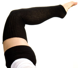 Ballet Loose Knit KD dance New York Leg Warmers Fluffy, Soft Durable Made In USA @KDdanceNewYork #MadeInUSA - 2