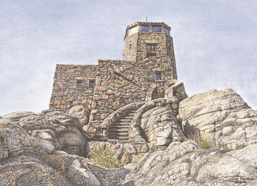 Standing Watch by Jon Crane of Black Elk Peak a.k.a. Harney Peak