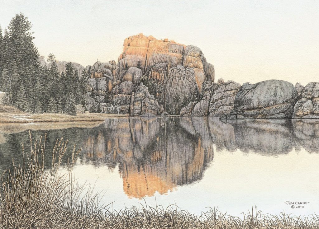 Sylvan Sunrise by Jon Crane of the Sylvan Lake Series