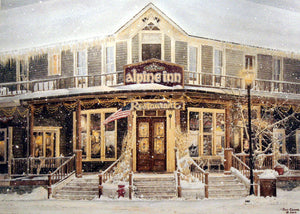 ALPINE INN by Jon Crane -- Fine Art Watercolors